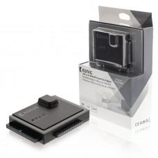 Adaptere for Harddisk IDE + SATA Svart/Sølv