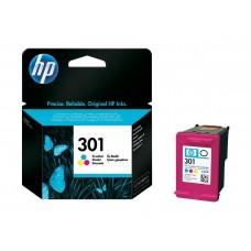 HP Blekk 301 Tri-Colour