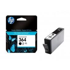 HP Blekk 364 Sort