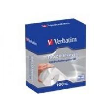 Verbatim papirlommer for CD/DVD 100 stk