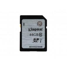 Kingston Secure Digital 64GB minnekort