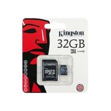 Kingston microSDHC Card 32GB, Class4